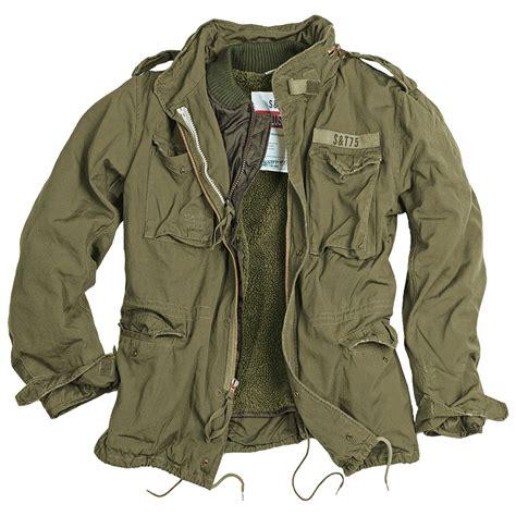 surplus vintage style m65 regiment mens warm
