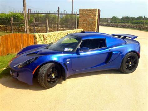 how it works cars 2007 lotus exige electronic valve timing sell used beautiful magnetic blue 2007 lotus exige s in austin texas united states for us