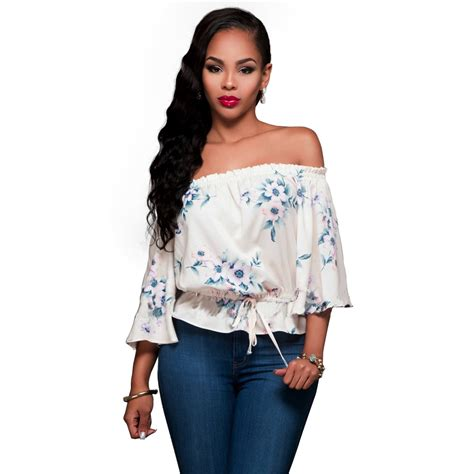 2017 floral print tops top fashion brand