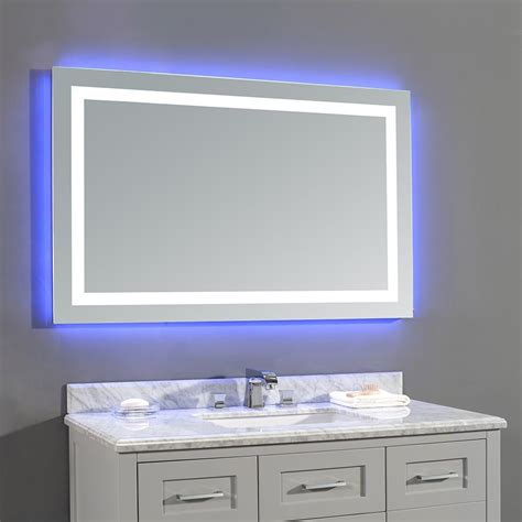 bathroom vanity mirrors canada ove decors 15vmr dl5243 000ga jovian 48 x 28 inch led