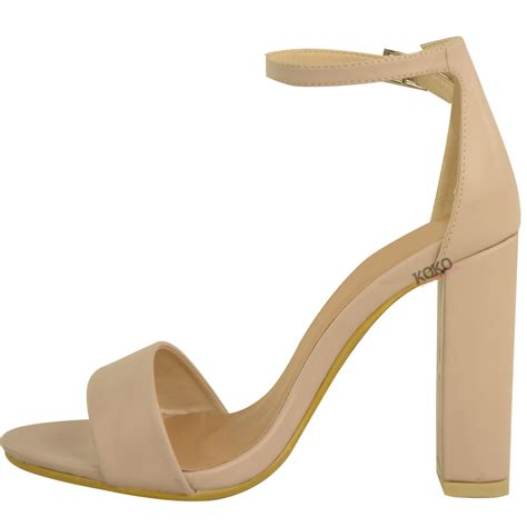 ankle high heels womens block high heels ankle open toe