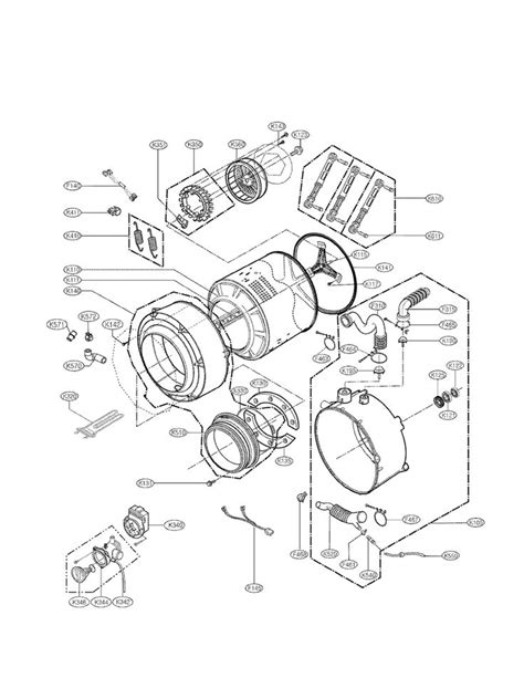 kenmore elite washer parts diagram kenmore elite he4 gas dryer wiring diagram kenmore front