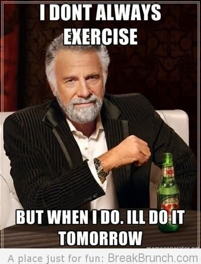 Funny Exercise Memes - 25 most funniest exercise meme pictures and images