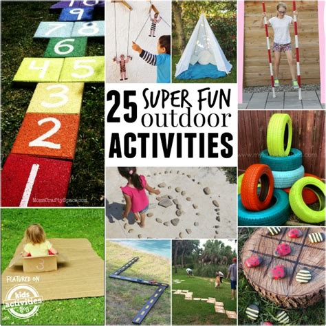 Backyard And Activities 25 Ideas To Make Outdoor Play