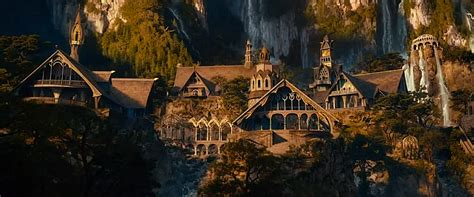 hobbit architecture rivendell lord of the rings wiki