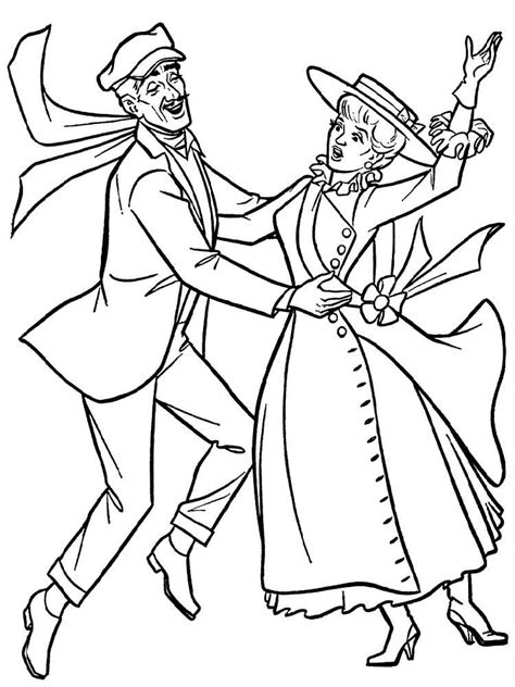 coloring page from photo poppins coloring pages free printable poppins