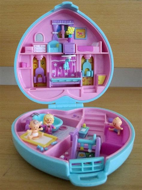 polly pocket house polly pocket baby time compact pockets