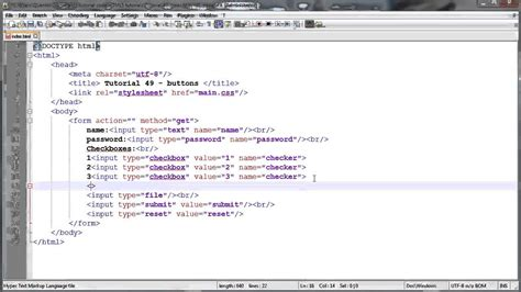 javascript tutorial quentin watt html5 and css3 beginners tutorial 49 buttons youtube