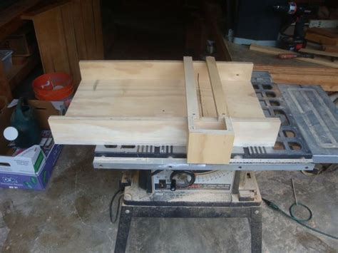 build  table  sled woodworking  mere mortals
