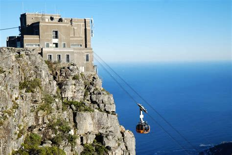 table mountain cable car table mountain aerial cableway
