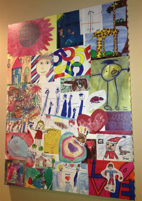 where to make color copies make color copies of your children s artwork and mod podge