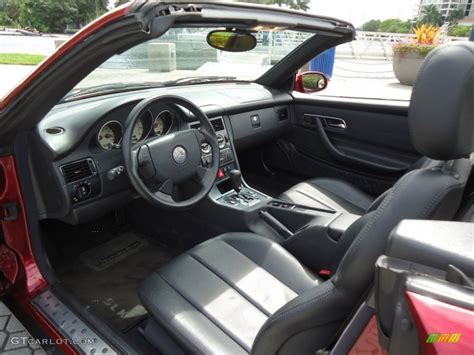 Mercedes Slk 230 Interior by Charcoal Interior 2000 Mercedes Slk 230 Kompressor