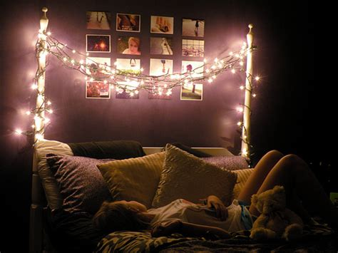 Brown Eyes Fairy Lights Pretty Lights Bedroom