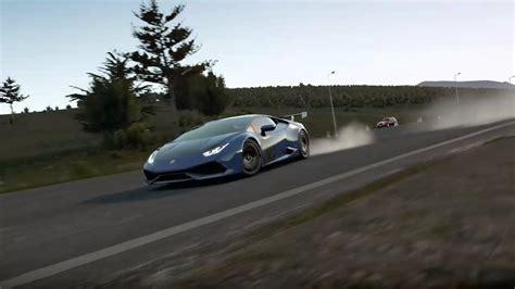 300 Km H Lamborghini by Horizon 2 Lamborghini Huracan 300 Km H 360 Drift Cam 1
