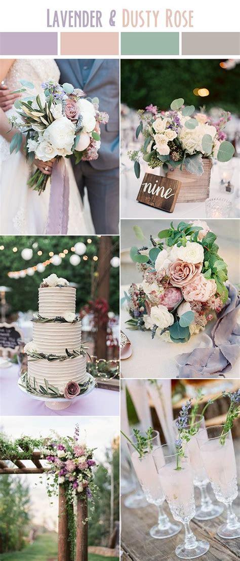 10 best wedding color palettes for summer 2017