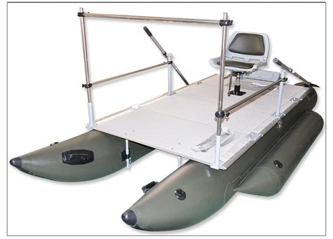 inflatable fishing boat ebay aquos 380 green inflatable pontoon fishing boat ebay