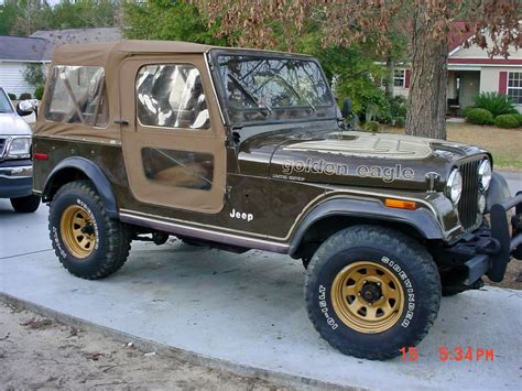 jeep cj golden the gallery for gt jeep cj7 golden eagle