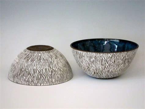 Handmade Studio - sgraffito bowls handmade studio ceramics east hton