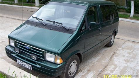 1997 ford aerostar minivan specifications pictures prices