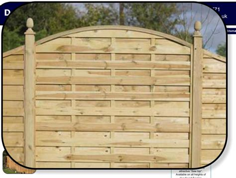 Shaped Fence Panels Haslemere Domestic Fencing