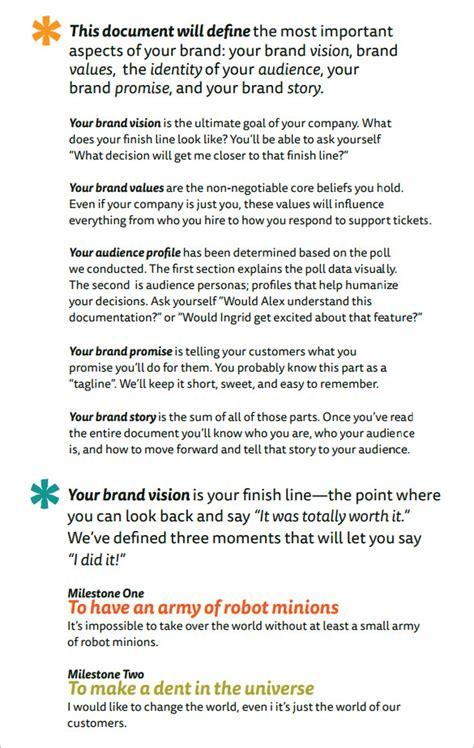 brand strategy template pdf brand strategy templates 15 free sle exle