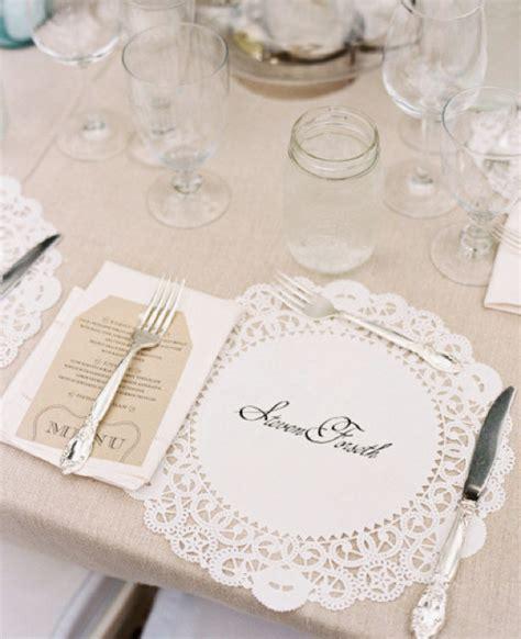 Bridal Shower Paper Placemats