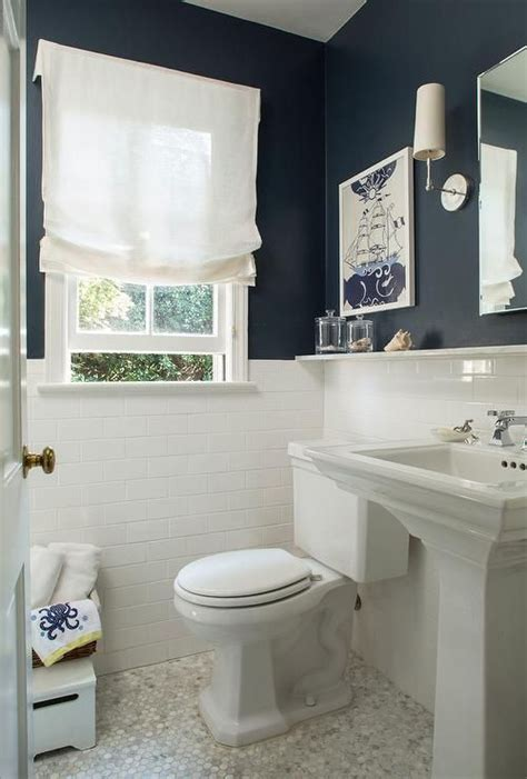 navy and white bathroom ideas 25 best ideas about navy bathroom on pinterest bathroom