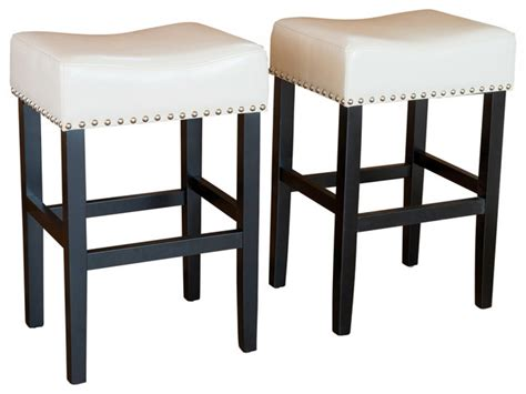 kitchen counter stool leather counter height bar stools