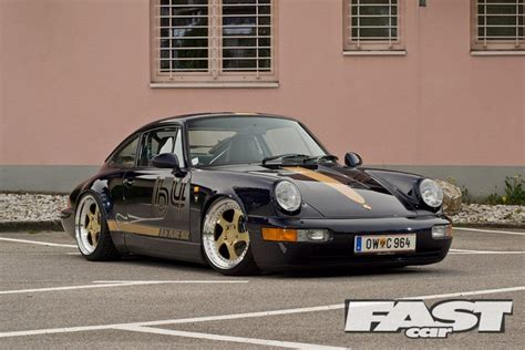 porsche modified modified porsche 964 fast car