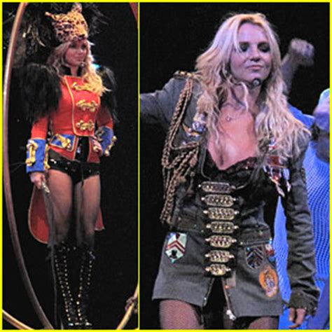 britney spears hits the big top | britney spears : just jared