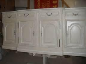 peindre meuble blanc effet vieilli conceptions