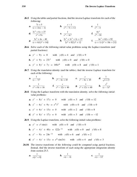 calculator laplace inverse laplace transform calculator online