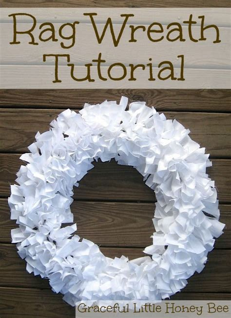 easy wreaths to make learn how to make this easy rag wreath using strips of