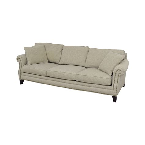 tan fabric sofa 38 off macy s macy s tan fabric nailhead sofa sofas