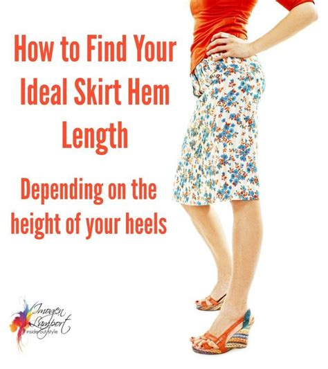 What Is Your Favorite Hem Length by How To Find Your Ideal Skirt Or Dress Hem Length