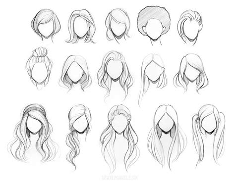 cute easy hairstyles to draw photos cute easy hair drawings drawing art gallery