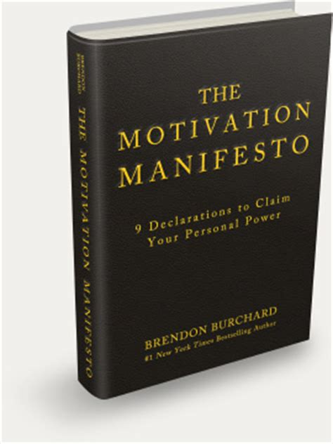 power a manifesto books official site the motivation manifesto by brendon burchard