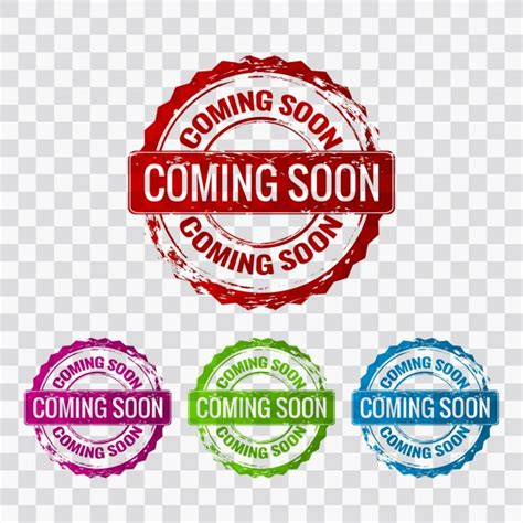 template photoshop stempel coming soon vector free download