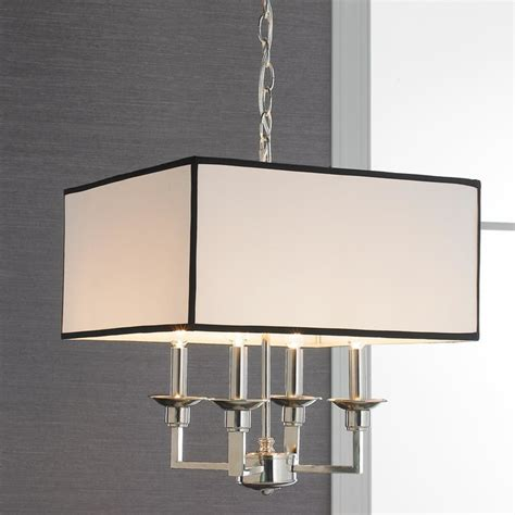 white square l shade square chandelier shades livex lighting s284 chandelier