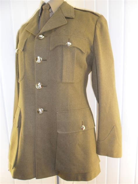 british army dress uniform vintage ww2 style british army officer no2 khaki dress