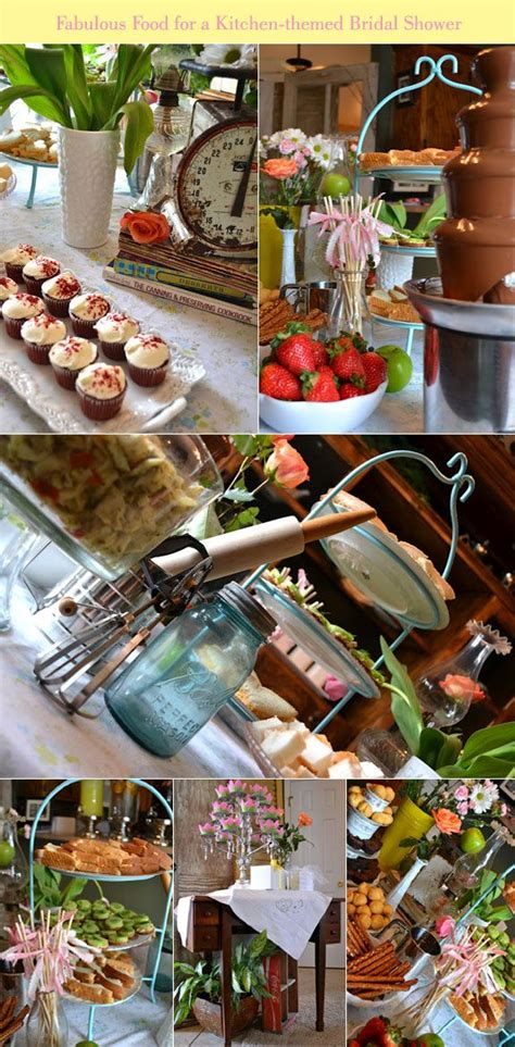 themed food events fab feature a kitchen themed bridal shower by julie ann