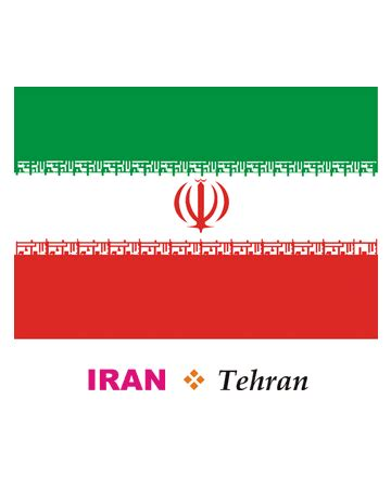 iran flag coloring pages for kids to color and print