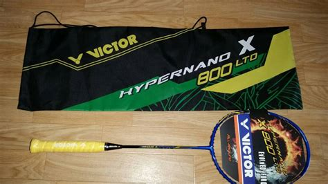 Raket Victor Hypernano X800 Ltd fs victor hypernano x800 ltd power brand new badmintoncentral