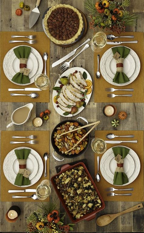 thanksgiving table settings 20 thanksgiving dining table setting ideas