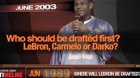 lebron james biography timeline pardon the interruption s 15 minute career timeline of