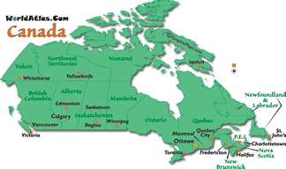 map of canada and major cities map of canada canada map map canada canadian map
