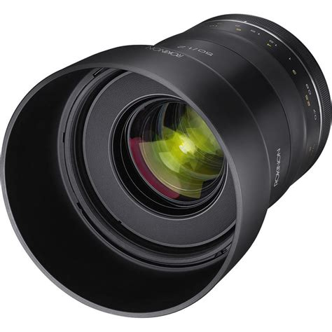 Samyang For Canon Xp 85mm F 1 2 rokinon samyang xp 50mm f1 2 lens priced 999 available