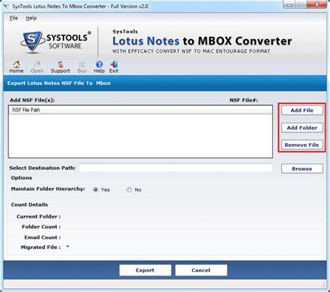 lotus notes to mac conversion 2 2 system utilities