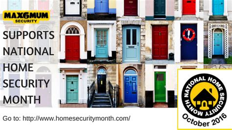 max6 supports national home security month
