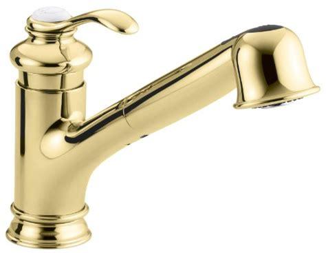 kohler brass kitchen faucets shop kohler fairfax vibrant kohler kitchen polished brass faucet kitchen polished